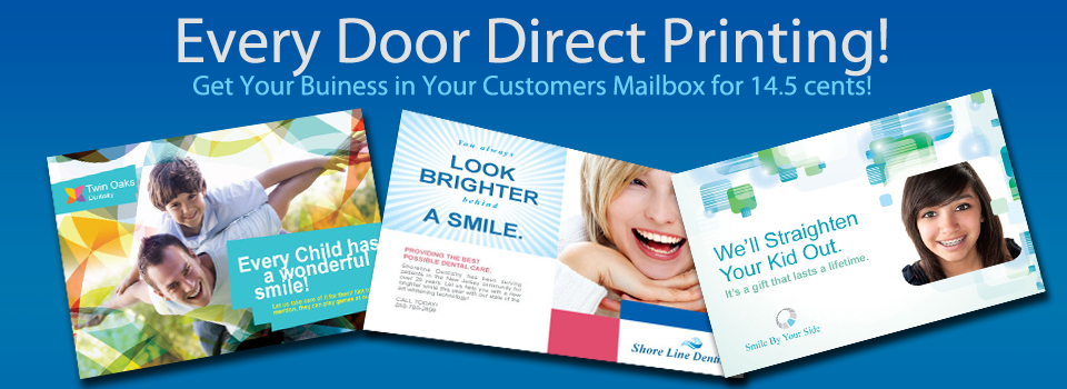 Every Door Direct Postcards