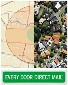Every Door Direct Radius Map